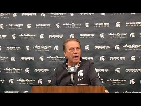 Michigan State coach Tom Izzo previews game vs. Duke