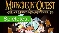 Munchkin Quest (Brettspiel) / Anleitung & Rezension / SpieLama