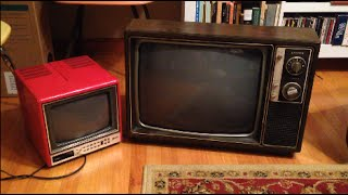 Heavy Trash Finds - LCD TV Resurrection, Vintage TVs & BONUS RANTS