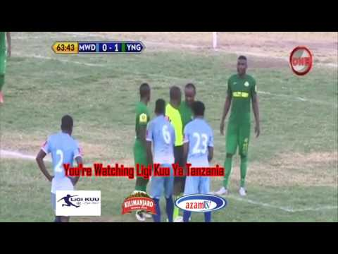 Ligi Kuu Ya Tanzania/ Mwadui Football Club 0 Vs Yanga Sport Club 2