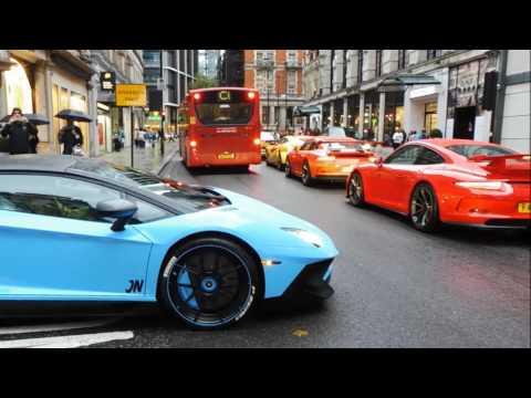 London Supercars August pt 2- Pagani Zonda c12, Zonda s, Yianni, Loads more!!