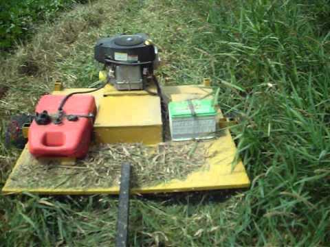Rough Cut Mower (Homemade) - YouTube