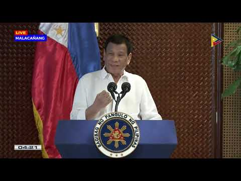 Pres. #Duterte administers the awarding of the PQA 2015-2017