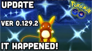 I ACTUALLY FOUND THIS RARE SHINY IN POKEMON GO | PVP UPDATE ANDROID VER 0.129.2 iOS 1.97.2