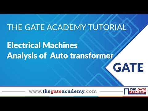 Analysis of Auto transformer | Electrical Machines | GATE Preparation | EE