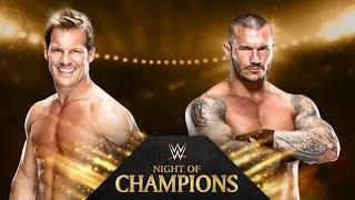 Chris Jericho vs. Randy Orton - Night of Champions - WWE 2K14 Simulation