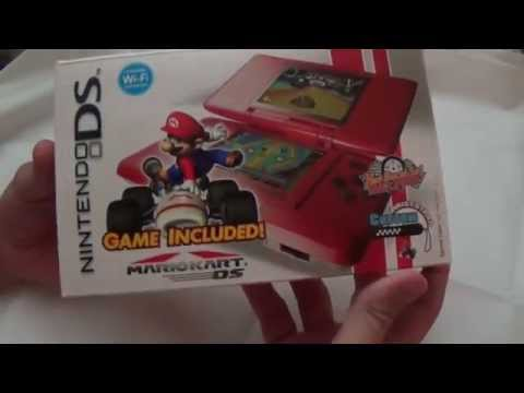 Hot Rod Red Nintendo DS Mario Kart Bundle HD Unboxing