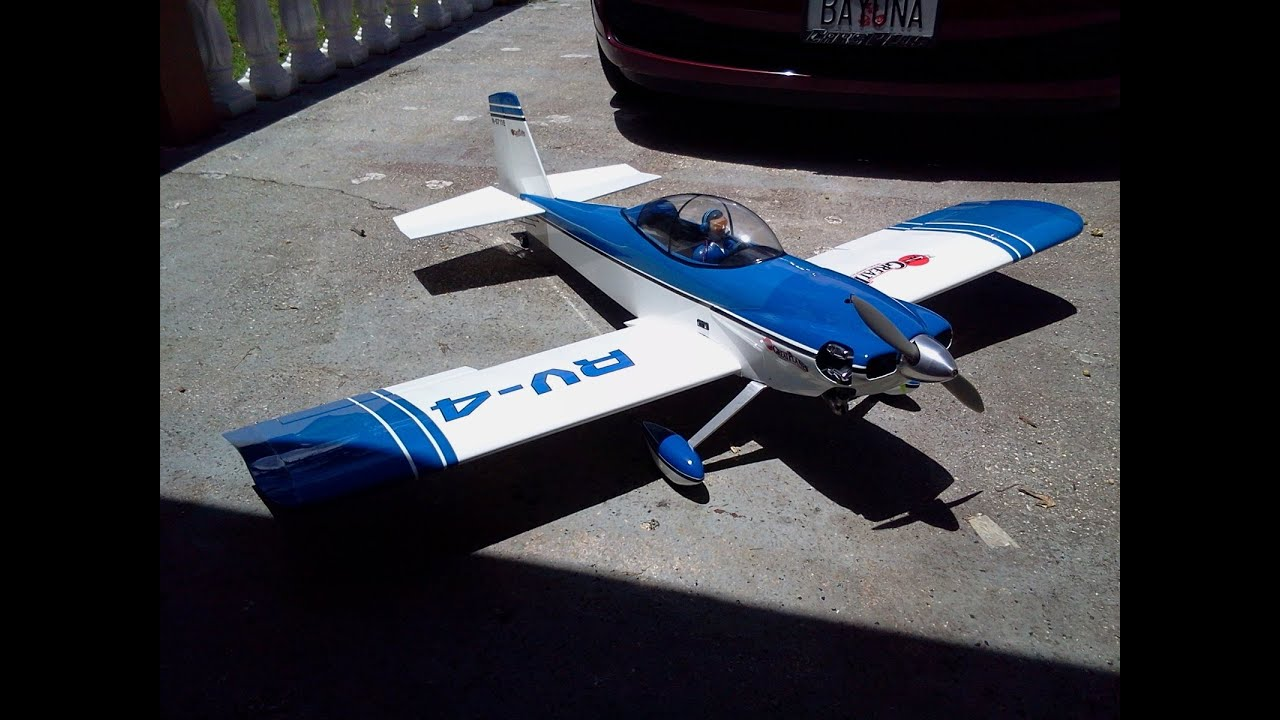 Great Planes Rv 4 Powered By Saito Fa 56 Maiden Flight 21