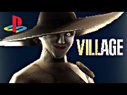 Resident Evil Village | PS1 Demake