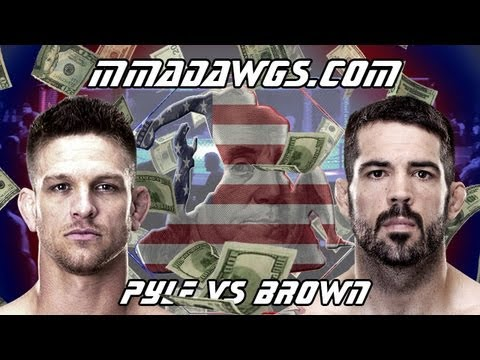 UFC Fight Night 26 Breakdown : Mike Pyle Vs Matt Brown - Fight Analysis & Betting Strategy