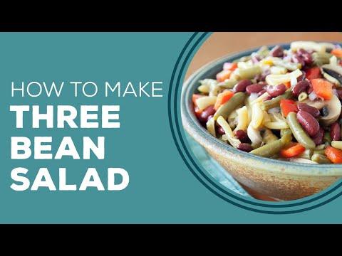 Blast from the Past Paula Deen's Three Bean Salad