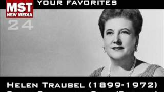 Part II - Your Favorites: HELEN TRAUBEL