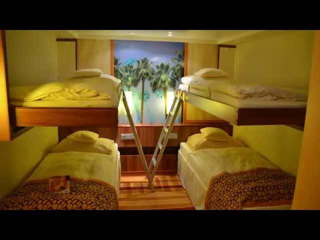 video,het cruiseschip Aida Bella, het Cruise Vertrekpunt , reisbureau