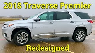 All-New Premier | Chevy Traverse 2018 Review