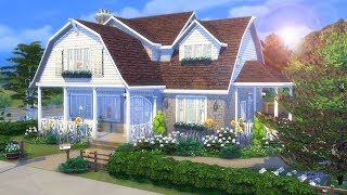🐾 Base Game + Cat's & Dog's ONLY 🐾 || The Sims 4 Family Home - Speed Build