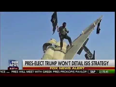 President-Elect Trump WISELY Refuses to Give Away Foreign Strategies - 11/15/16