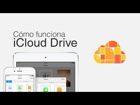 Cómo funciona iCloud Drive
