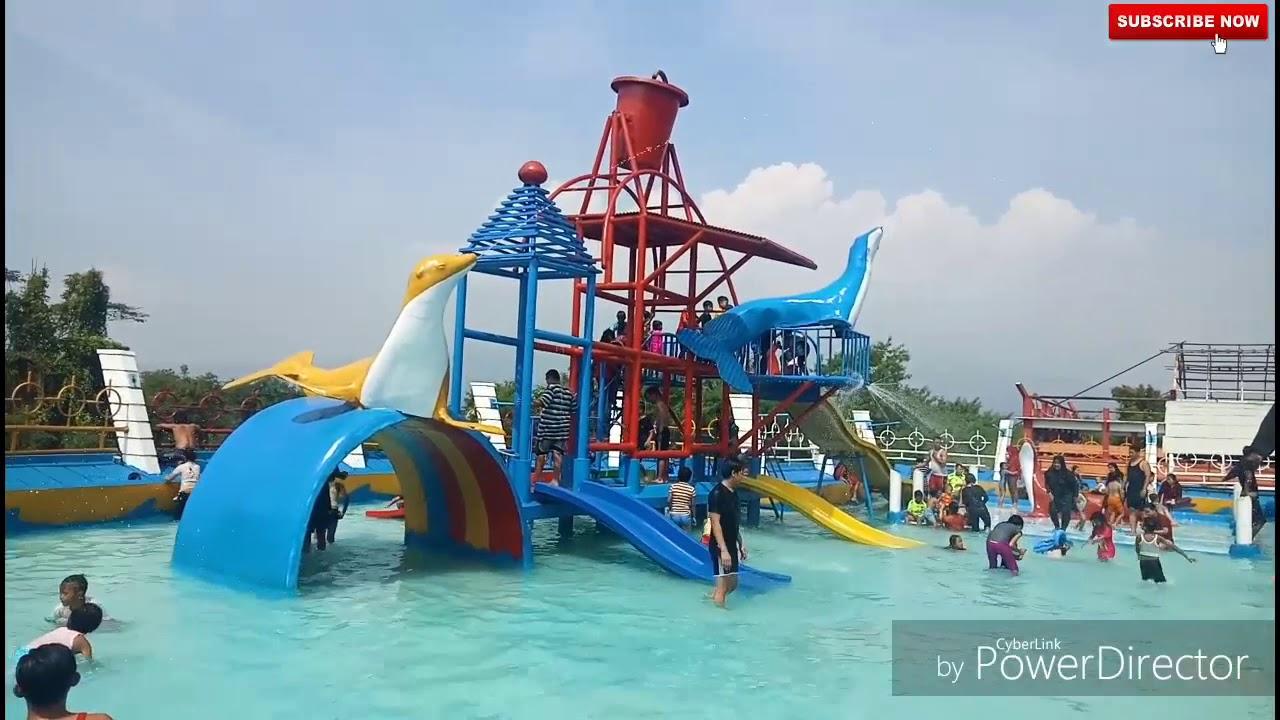 Kampung sawah waterpark soreang bandung - YouTube