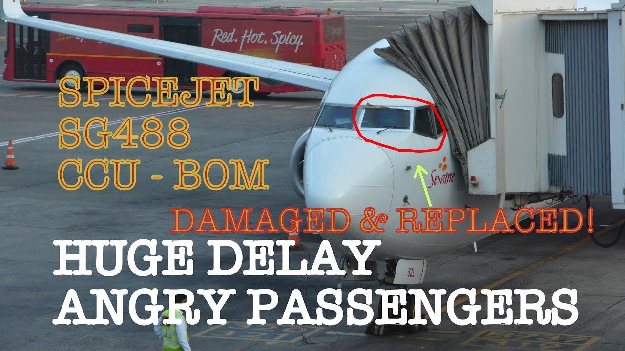 Review of Spicejet flight from Kolkata to Mumbai in Economy