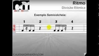 Curso de Música (Cauê Magrini) - Divisão Rítmica