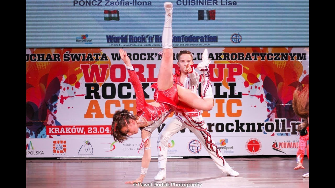 World Cup Rock'n'Roll Acrobatic Krakow 2018 - Final - Кликнете тук, за да видите клипа в YouTube