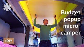 Rüya popup mikro karavanına bulamadım, onun yerine inşa edilen