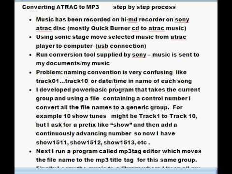 atrac to mp3 converter