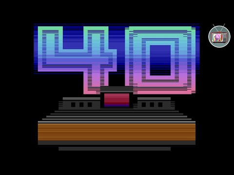 40 Years by Flush - Atari 2600 VCS Demo (2017) | Demoscene