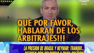 LA PRESION DE BRASIL Y NEYMAR - 03-07-14
