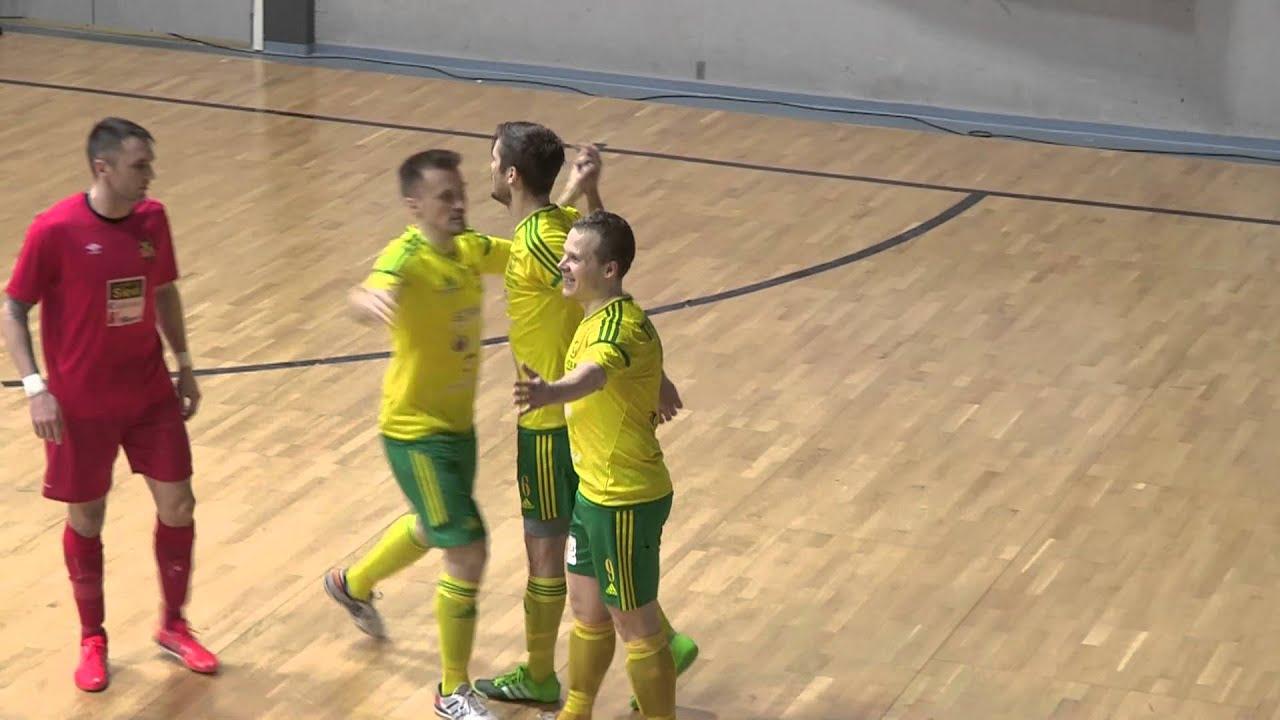 Ilves FS-Sievi Futsal 2-3 vm. 2-2 (1-1) Futsal-Liiga 13.3.2016 Tampere maalikooste - YouTube