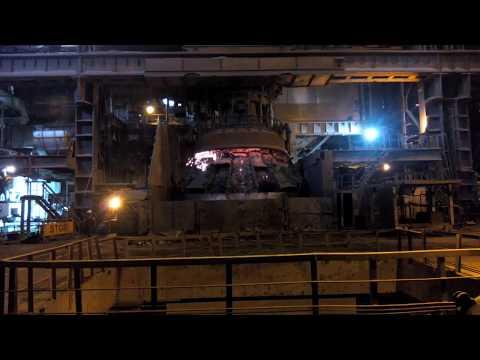 ore iron steel melting shop