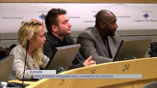 Europe : visite guidée au Parlement Européen