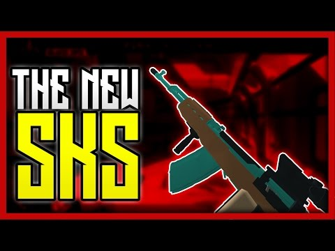 Phantom Forces - The New & Improved SKS! | NEW MICROPHONE!!