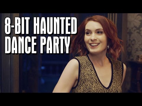 The 8Bit Haunted Dance Party  HALLOWEEK