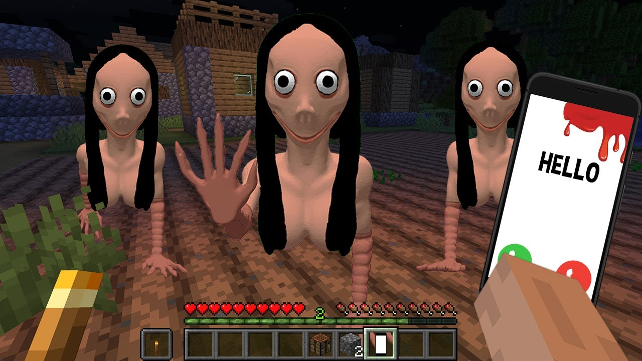 Download DON'T watch at MOMO in MINECRAFT By SCOOBY CRAFT