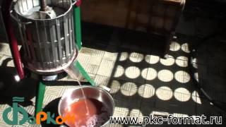 Приготовление натурального виноградного сока (АРХИВ)