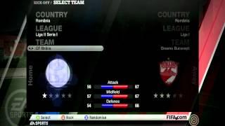 Fifa 11 liga1,2,3,4 Romania