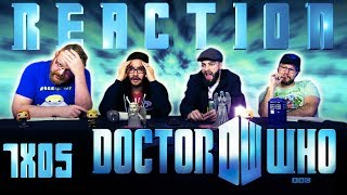 "Doctor Who 7x5 REACTION!! ""The Angels Take Manhattan"""