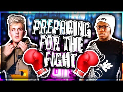 Preparing Deji for Jake Paul