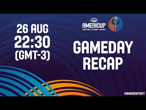 #JornadaAmeriCup - Día 2 - FIBA AmeriCup 2017