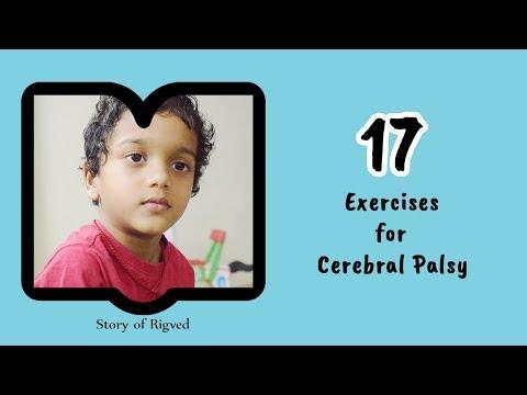 17 Exercises for Cerebral palsy I Rigved's exercise routine I vlog
