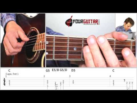 Tabs & Tutorial for What Do You Mean?  (Justin Bieber) for fingerstyle Guitar