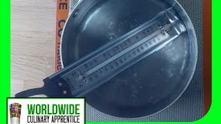 How to calibrate your Candy Thermometer - Thermometer calibration