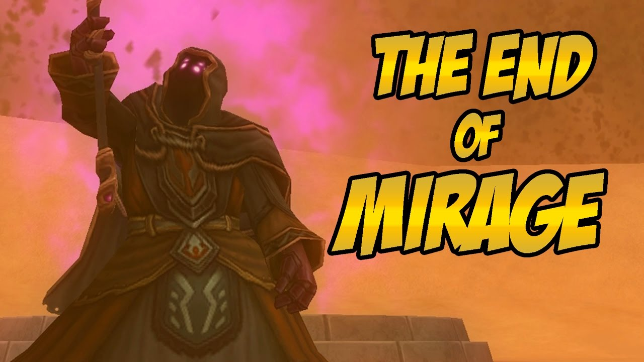 Wizard101: THE END OF MIRAGE - Final Battle Vs  Old Cob