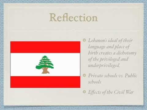 Education in Lebanon
