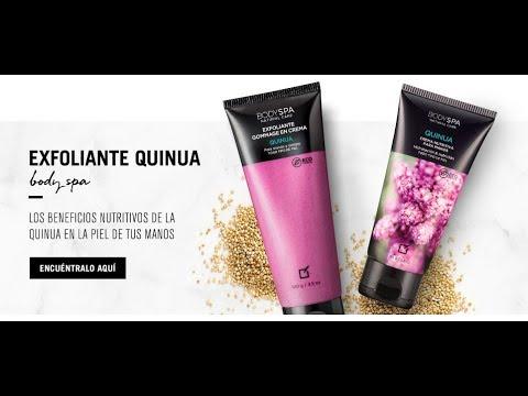Exfoliante e Hidrante - Body Spa Quinua de YANBAL