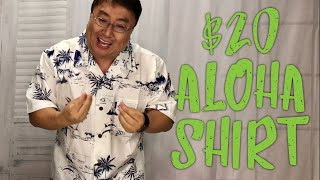 White Map Hawaiian Aloha Shirt by Palm Wave Review