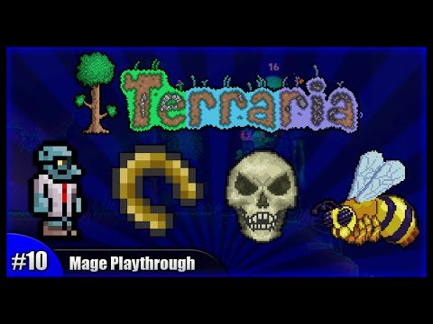 terraria how to play a mage