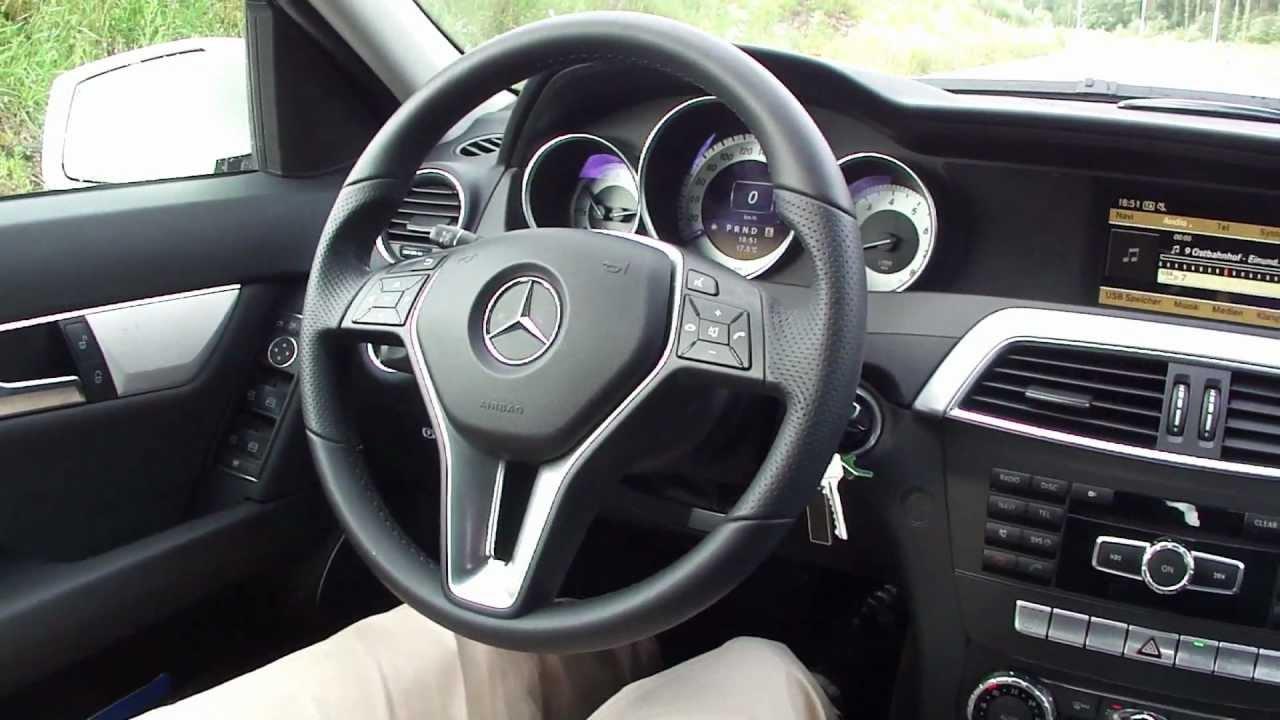 2012 Mercedes Benz C180 Walkaround Youtube