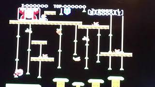 Donkey Kong Jr. (NES) - Game B